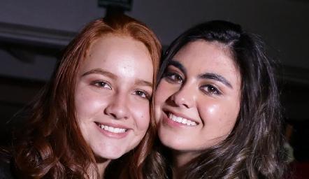 Nuria Naranjo y Vale Gerardo.