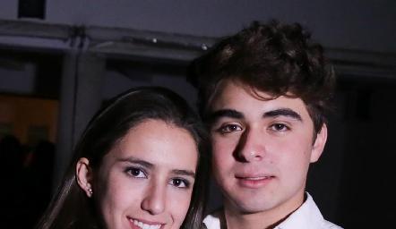 Ana Sofía Aldrett y Santiago de Alba.