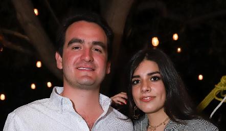 Julio Galindo y Ana Lu Díaz.