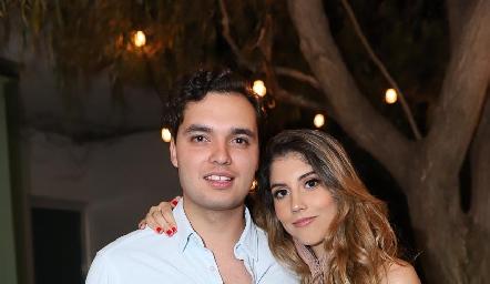 Enrique Quintero y Paola Dávila.