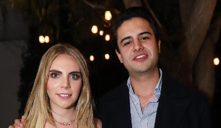 Mariana Pizzuto y Gerardo Valle.