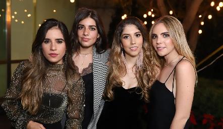 Gaby Lambert, Ana Lu Díaz, Paola Dávila y Mariana Pizzuto.