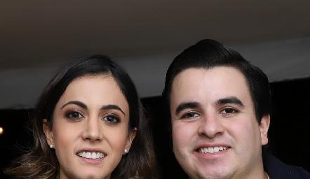 Olivia Abud y Juan Carlos Arredondo.