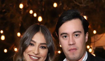 Claudia Rodríguez y Daniel Estrada.