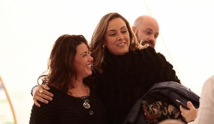 Cristina Pizzuto y Mariana Galán.
