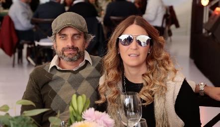 Juan Pablo Zambrano y María Espinosa.