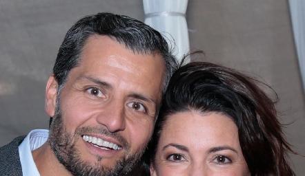 Carlos de los Santos y Cristina Pizzuto.