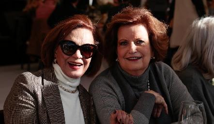 Marcela Mier y Coco Pizzuto.