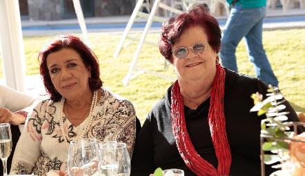 Carmen Lafuente y Ágatha Pizzuto.