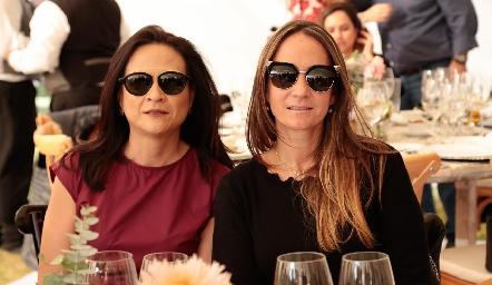 Ana María Ortiz y Jimena Ibarra.