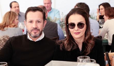 Alejandro Lafuente y Adriana Revuelta.