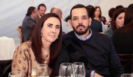 Regina Ibáñez y Armando Gutiérrez.