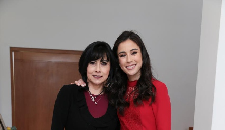 Tere Guerrero y su hija Teté Mancilla Guerrero.