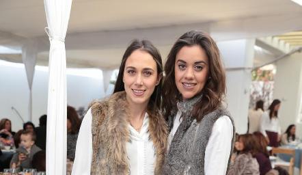 Begoña Del Valle y María Pía González.
