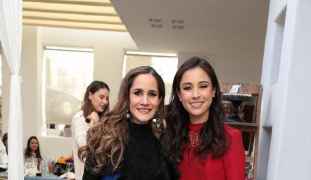 Dani Mina de Mancilla con su cuñada Teté Mancilla.