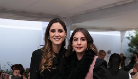 Miriam Díaz Infante e Isa Castelo.