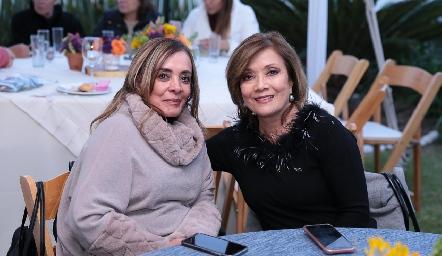 Verónica Rodríguez y Soledad Vega.