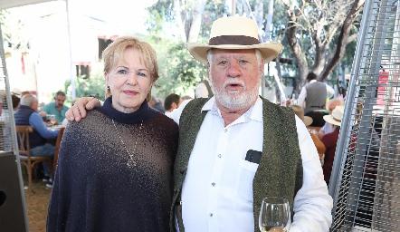 Lynette y Guillermo Pizzuto.