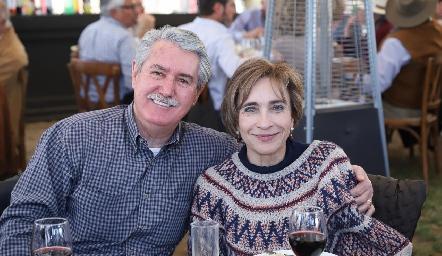 Mario Leal y Patricia de la Rosa.