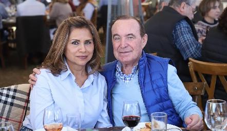 Koki y Abelardo Uría.