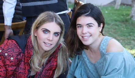Mariana y Cristina Pizzuto.