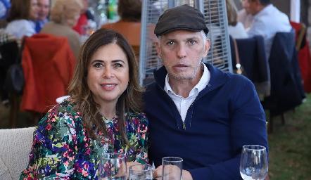 Pilar Díaz de León y Tony Pizzuto.