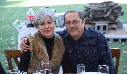 Tere Zavala y Héctor Blanco.