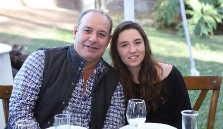 Manolo y Adriana Martins.