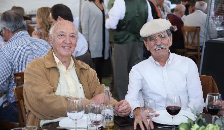 Francisco Artolózaga y Carlos Malo.