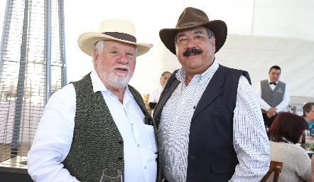Guillermo Pizzuto y Carlos Torres.