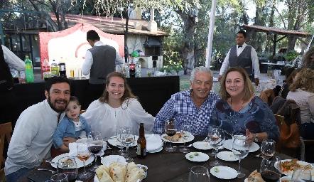 Familia Quintanilla.