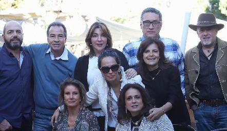 Jeppo Mahbub, José Luis Hernández, Nuria Lozano, Salvador de la Maza, Pedro Valdés, Lourdes de López, Malena Villasuso, Paty Silos y Maru Martínez.
