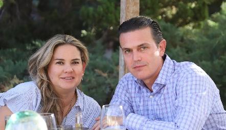 Daniela Benavente y Güicho Fernández.