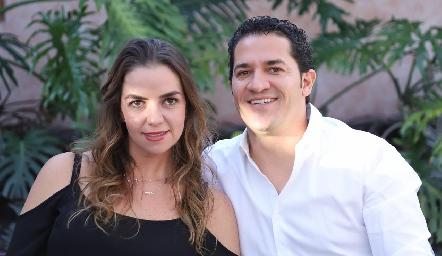 Rocío Muriel y René Pierdant.