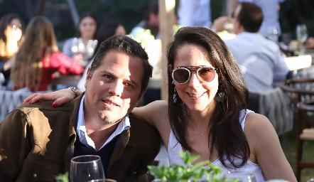 Jorge Cuevas y Bárbara Ruiz.