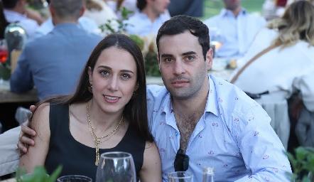 Begoña Del Valle y Fernando López.