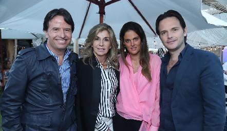 Filiberto, Márgara, Melissa y Tito Herrera.