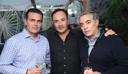 Güicho Fernández, Eduardo Ramos y Gerardo Serrano.