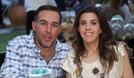 Gonzalo Benavente y Cristina Barragán.