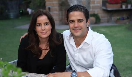 Patricia Quiroz y Roberto Bretón.
