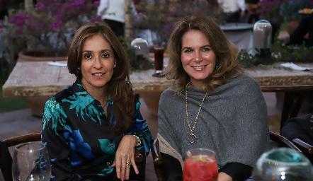 Mónica Gaviño y Marisa Romero.