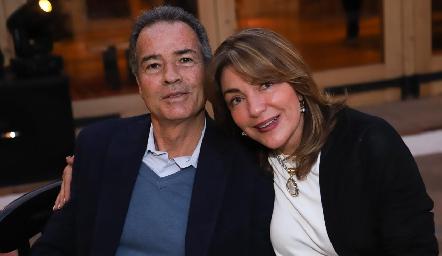 José Luis Hernández y Nuria Lozano.