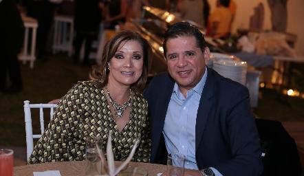 Soledad Vega y Jorge Carrillo.