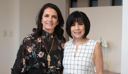 Gabriela Meade de Díaz Infante y Teresa Guerrero de Mancilla.