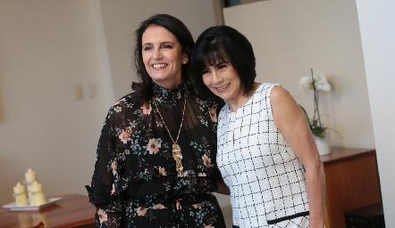 Consuegras Gabriela Meade de Díaz Infante y Teresa Guerrero de Mancilla.