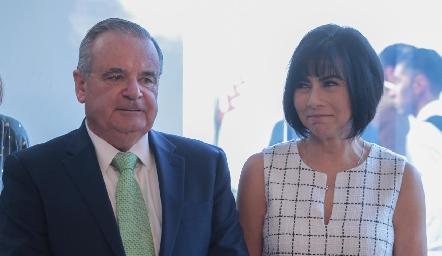 Alejandro Mancilla y Teresa Guerrero de Mancilla.