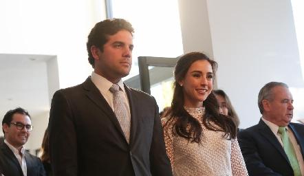 Federico Díaz Infante y Tere Mancilla.