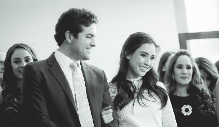 Federico Díaz Infante y Teté Mancilla.