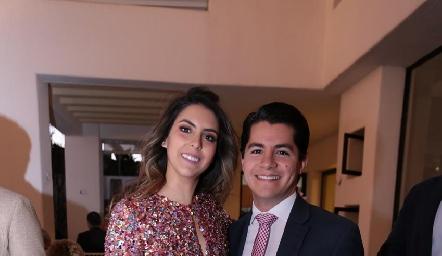 Regina Oliva y Arturo Hernández.