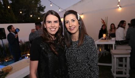 Ana Gaby González y Rosy Loredo.